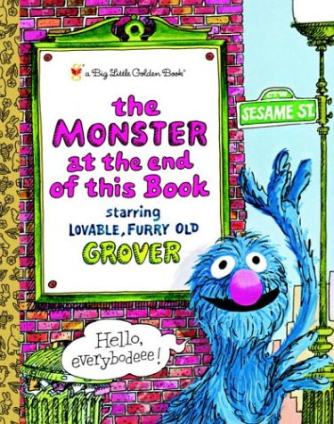 The Monster at the End of this Book (Big Little Golden Book)