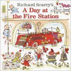 Richard Scarry's A Day at the Fire Station (Look-Look)