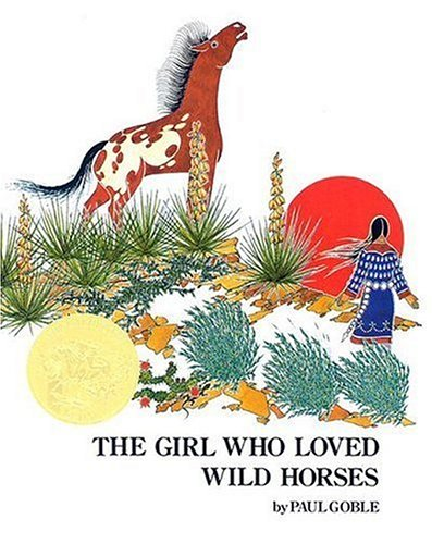 The Girl Who Loved Wild Horses (Hardcover)