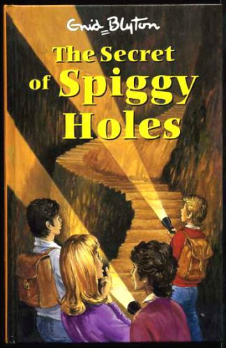 The Secret of Spiggy Holes book cover