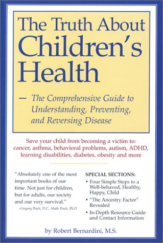 The Truth About Children's Health book cover