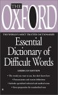 The Oxford Essential Dictionary of Difficult Words (Oxford)