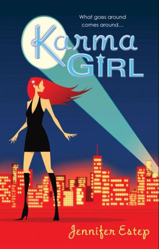 Post Thumbnail of Advent Calendar Day 24: Karma Girl by Jennifer Estep + Giveaway