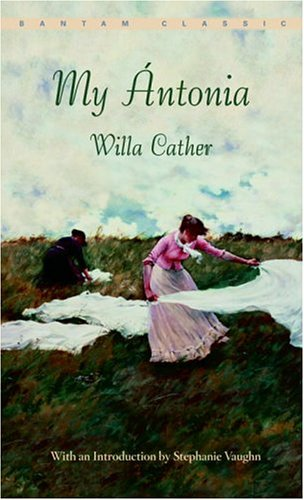 an overview of my antonia a novel by willa carther My Ántonia~ willa cather i look forward to hearing all of your responses to what is probably willa cather's finest novel my antonia reads quickly and is an.