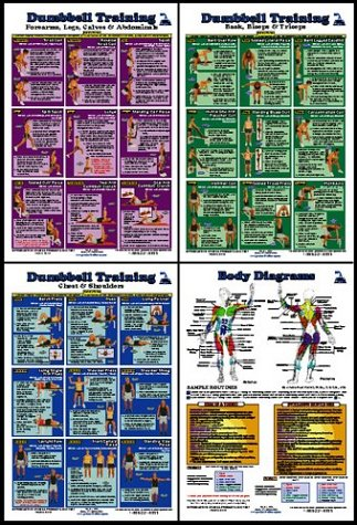 Printable Dumbbell Workout Chart Pdf Exercises Complete