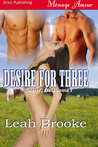 Desire for Three (Desire, Oklahoma, #1)