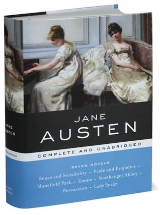 Jane Austen (Sense and Sensibility, Pride and Prejudice, Mansfield Park, Emma, Northanger Abbey, Persuasion, Lady Susan)