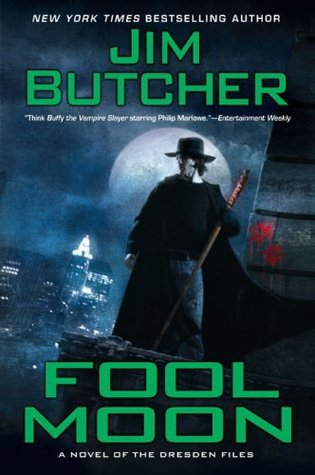 Series Review: Fool Moon (The Dresden Files, Book 2), By Jim Butcher Book Cover Art