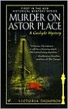 Murder on Astor Place (A Gaslight Mystery, #1)