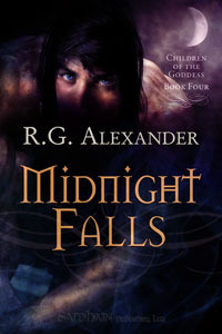 Midnight Falls (Children of the Goddess, #4)