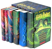 Harry Potter Boxed Set (Harry Potter, #1-6)
