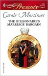 The Billionaire's Marriage Bargain (Harlequin Presents)