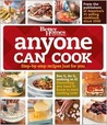 Anyone Can Cook: Step-By-Step Recipes Just for You [With DVD]
