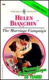 The Marriage Campaign (Marriages, #2) (Harlequin Presents, #1960)
