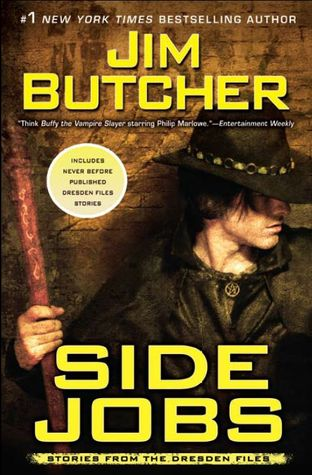 Series Review: Side Jobs (The Dresden Files, Book 12.5), By Jim Butcher Book Cover Art