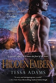 Hidden Embers (Dragon's Heat, #2)