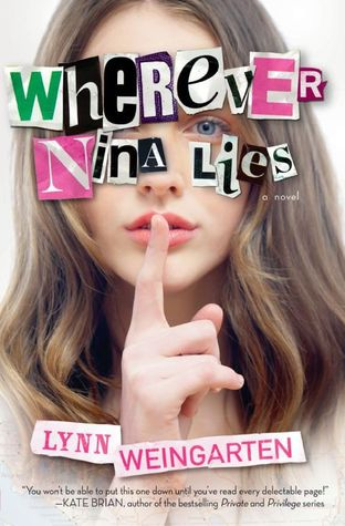 lynn weingarten, wherever nina lies, this is point, bookish-escape, scholastic