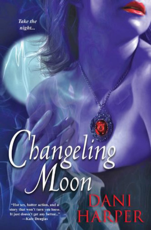 Book review and giveaway:  Changeling Moon by Dani Harper