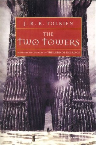 book cover of The Two Towers by J. R. R. Tolkien