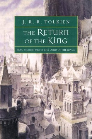 book cover of The Return of the King by J. R. R. Tolkien