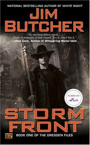 Series Review: Storm Front (The Dresden Files, Book 1), By Jim Butcher Book Cover Art