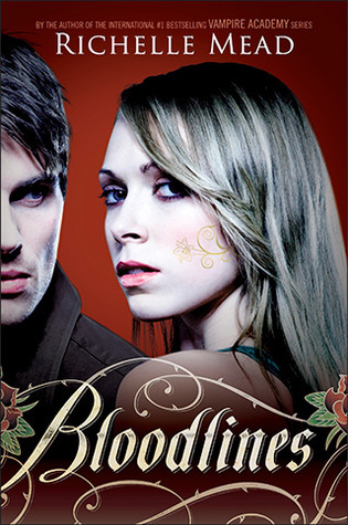 book cover of Bloodlines by Richelle Mead