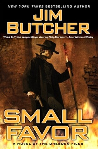 Series Review: Small Favor (The Dresden Files, #10), By Jim Butcher Book Cover Art