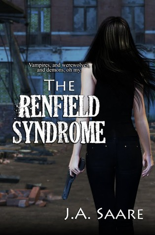 Review: The Renfield Syndrome by J.A. Saare (Rhiannon's Law #2)
