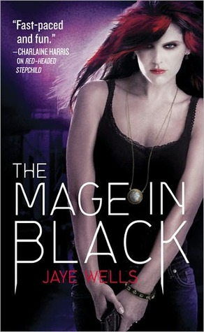 Post Thumbnail of Review: The Mage in Black by Jaye Wells