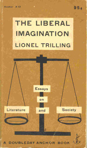 lionel trilling essays on literature and society