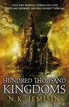book cover: The Hundred Thousand Kingdoms (The Inheritance Trilogy, #1)
