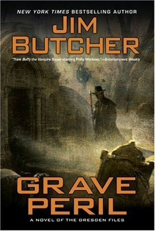 Series Review: Grave Peril (The Dresden Files, Book 3), By Jim Butcher Book Cover Art
