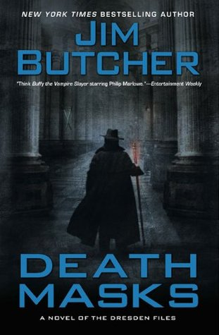 Book Review: Death Masks (The Dresden Files, Book 5), By Jim Butcher Book Cover Art