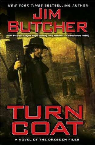 Series Review: Turn Coat (The Dresden Files, Book 11), By Jim Butcher Book Cover Art