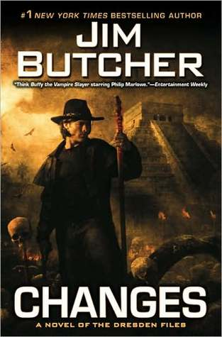 Series Review: Changes (The Dresden Files, Book 12), By Jim Butcher Book Cover Art