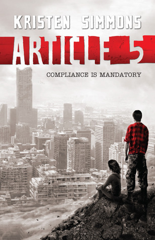 Book Michelle Covets: Article 5 by Kristen Simmons