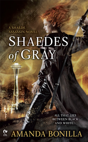 Review: Shaedes of Gray by Amanda Bonilla (Shaede Assassin #1)