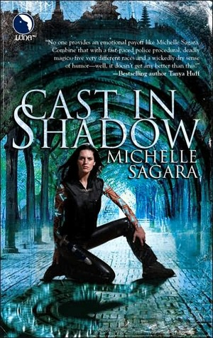 Cast in Shadow (Chronicles of Elantra, #1)