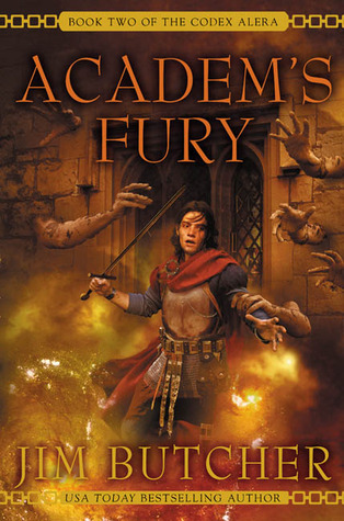 Book Review: Academ's Fury (Codex Alera, Book 2), By Jim Butcher Cover Art