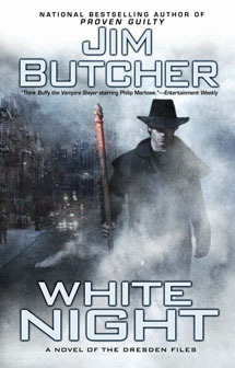 Series Review: White Night (The Dresden Files, #9), By Jim Butcher Book Cover Art