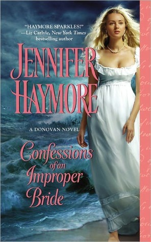 Confessions of an Improper Bride (Donovan, #1)