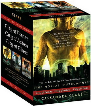 The Mortal Instruments Boxed Set: City of Bones; City of Ashes; City of Glass (Mortal Instruments, #1-3)