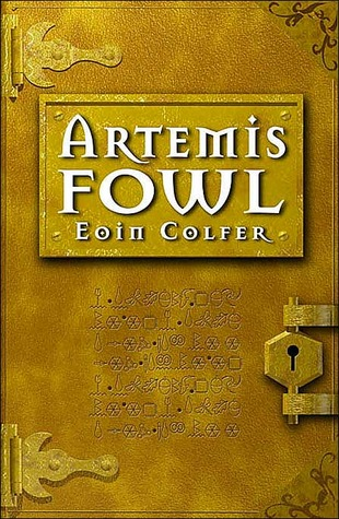 Book Review: Artemis Fowl (Book 1), By Eoin Colfer Cover Art