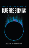blue fire burning