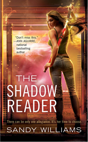 The Shadow Reader (A Shadow Reader Novel, #1)