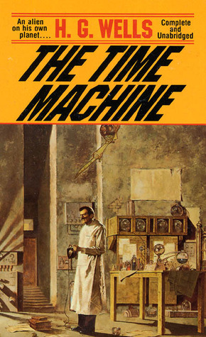 The Time Machine - illustrated cover