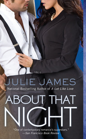 Michelle's Review: About That Night by Julie James