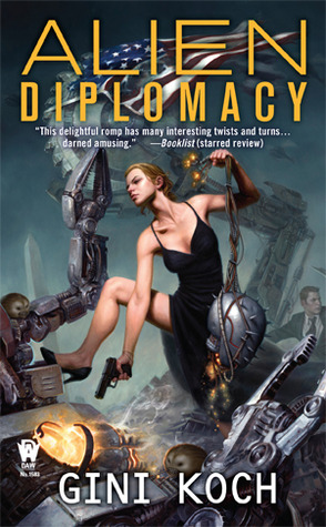Post thumbnail of Review: Alien Diplomacy by Gini Koch