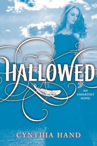 Hallowed by Cynthia Hand cover