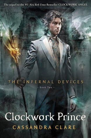 Book Review: Clockwork Prince (The Infernal Devices, Book 2), By Cassandra Clare Cover Art